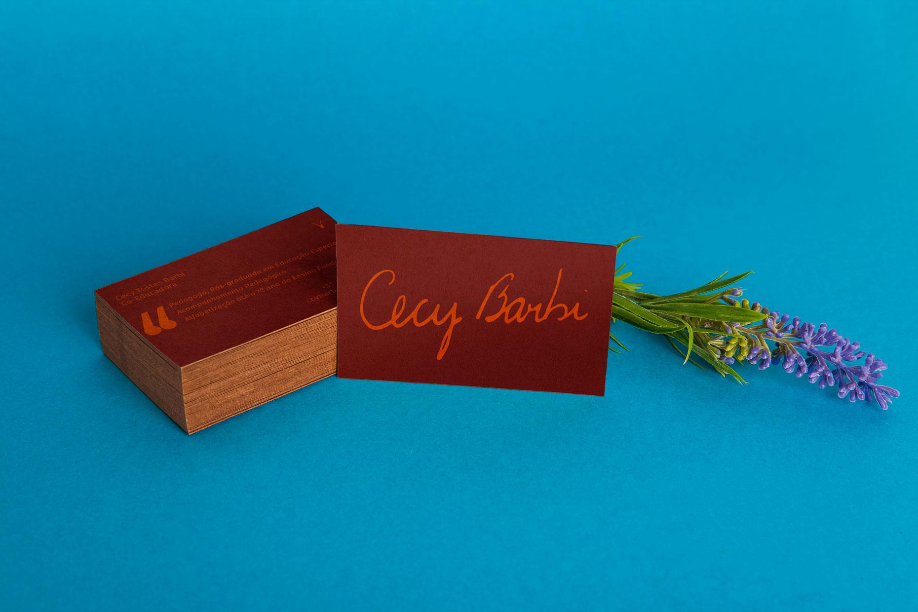Cartão de Visita Cecy Barbi