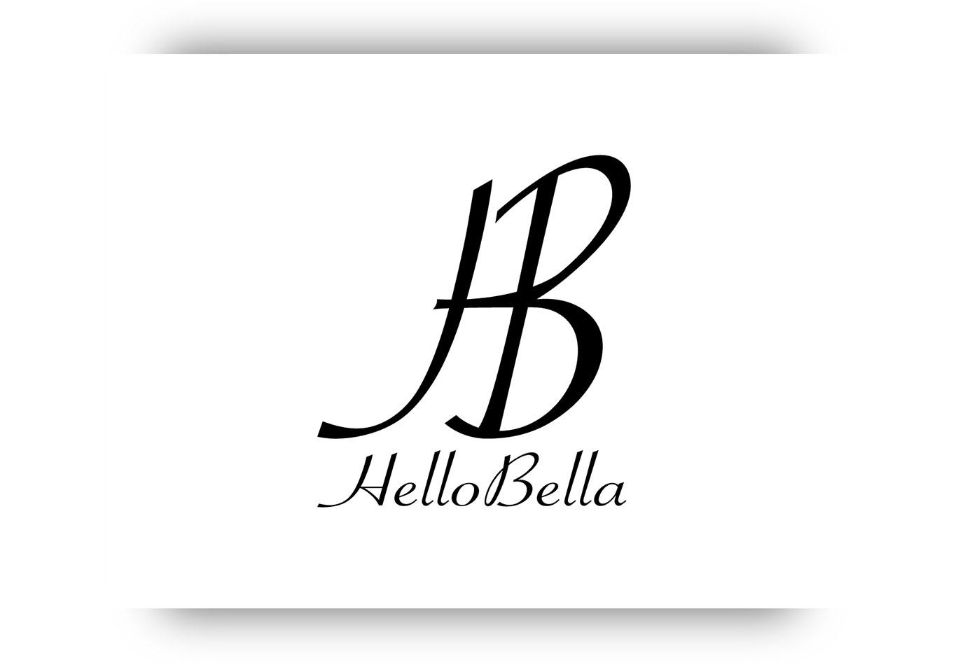 Logo Hello Bella